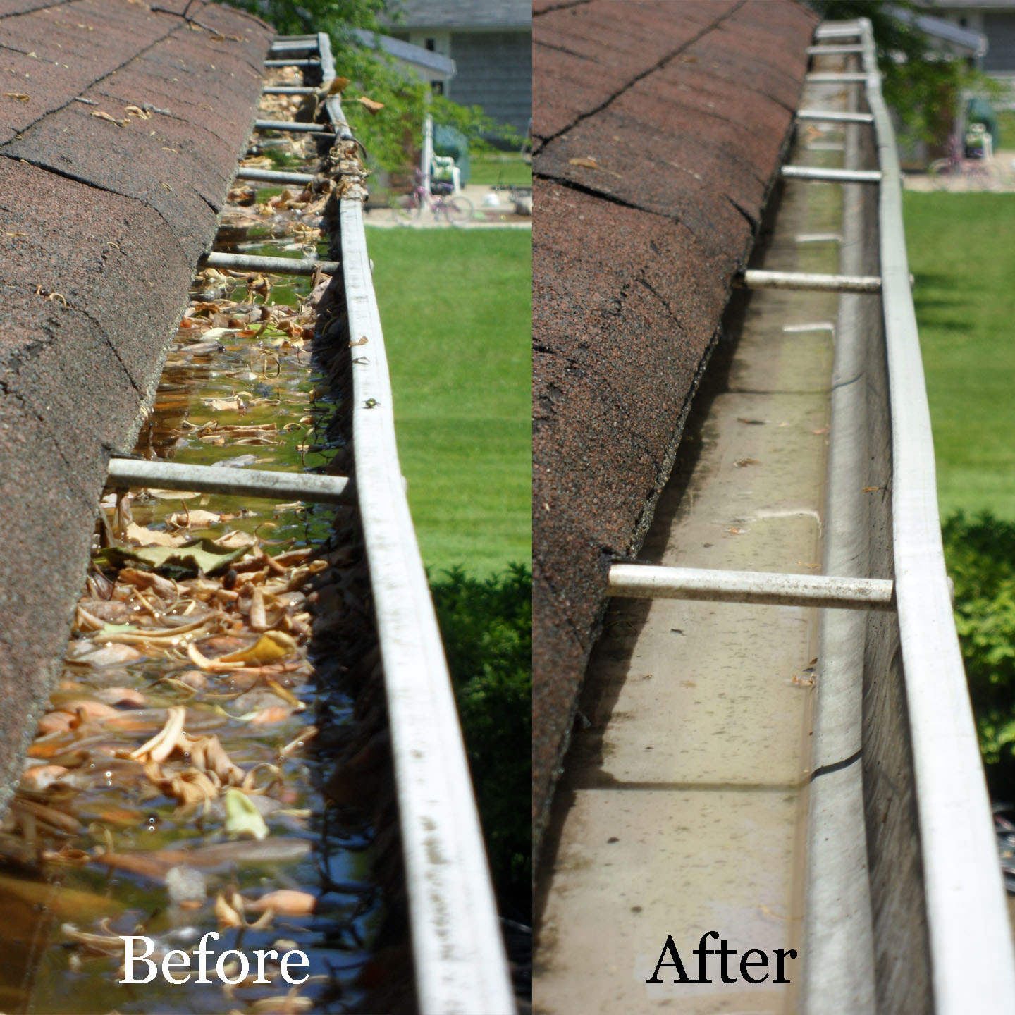 Gutter Cleaning In Evans